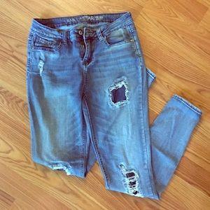 Vanilla Star ripped skinny jeans